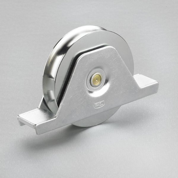 120 X 30mm T Wheel With Internal Support Round Groove Max