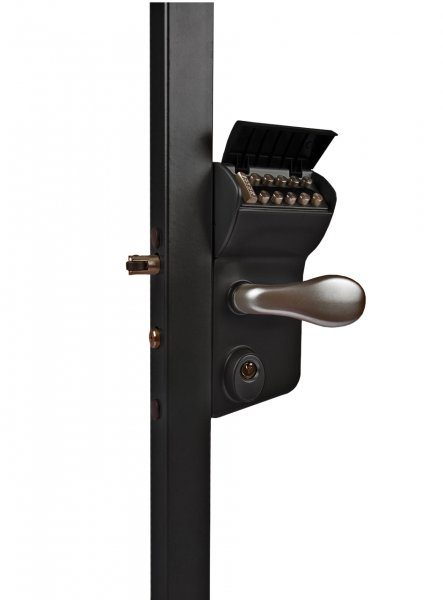 Locinox Combination Lock To Suit Sections 10 30mm Black
