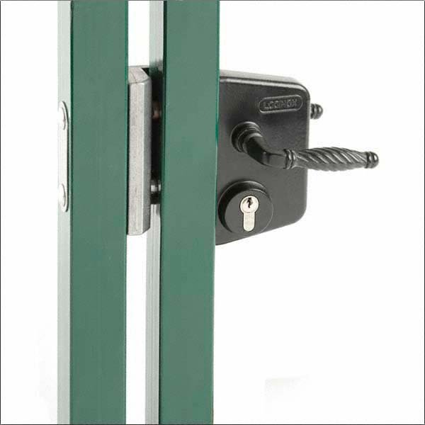 Locinox Gate Lock With Cylinder Amp Handle To Suit Sections