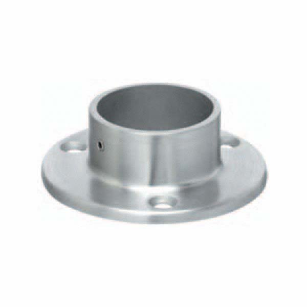 External Fit Round Tube Flange 42 4mm Fix F H Brundle