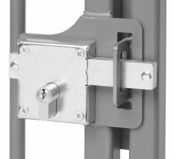 24mm Cylinder Gate Lock K A F H Brundle