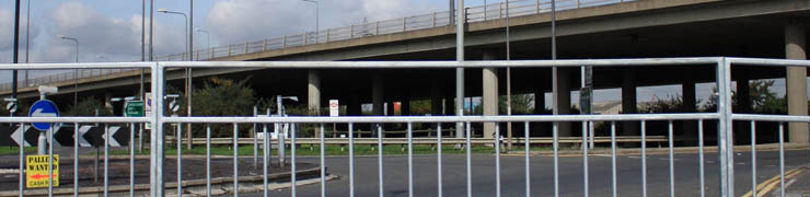 Pedestrian Barrier Panels