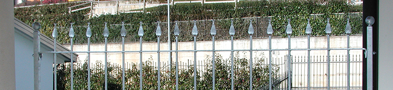Linear Fencing Panels