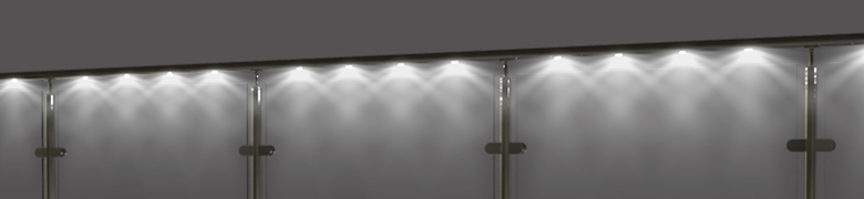 Illumirail | LED Pod Lighting System for Handrail