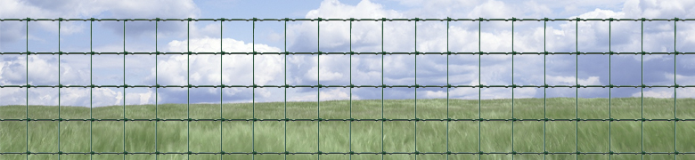 Green Stock Fencing Mesh