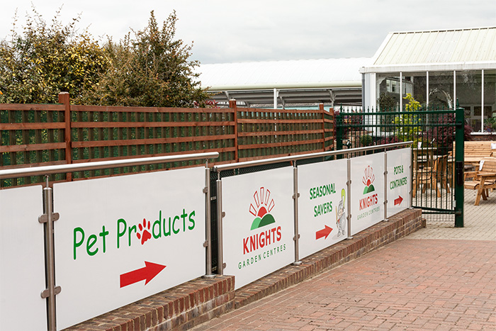 Knights Garden Centre-Stainless Steel Railing