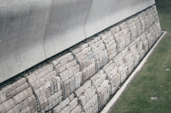 Gabion Mesh Scottish Parliament