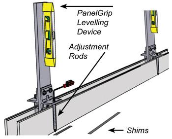 PanelGrip Levelling Tool Kit - F H Brundle