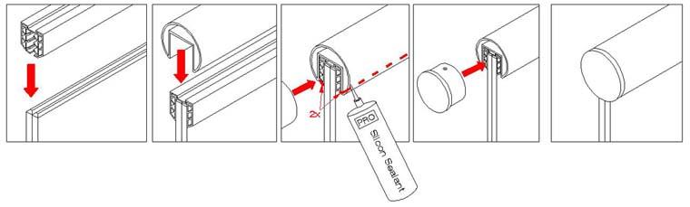 Stainless Steel Split Tube - Type 304 42 4mm Diameter x 6m Long