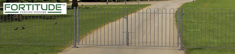 Bow Top Fencing Gates