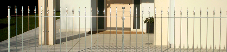 Linear Fencing Panels and Components