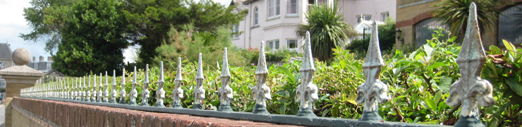 Decorative Spikes for Railings