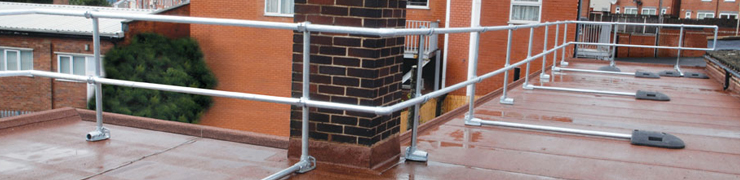 Roof Edge Protection Railing Systems