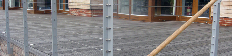 Handrail & Components | Wire Rope System - F H Brundle