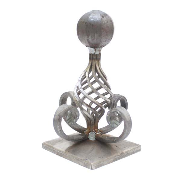 Decorative Post Cap Height 200mm 105mm Square Base F H