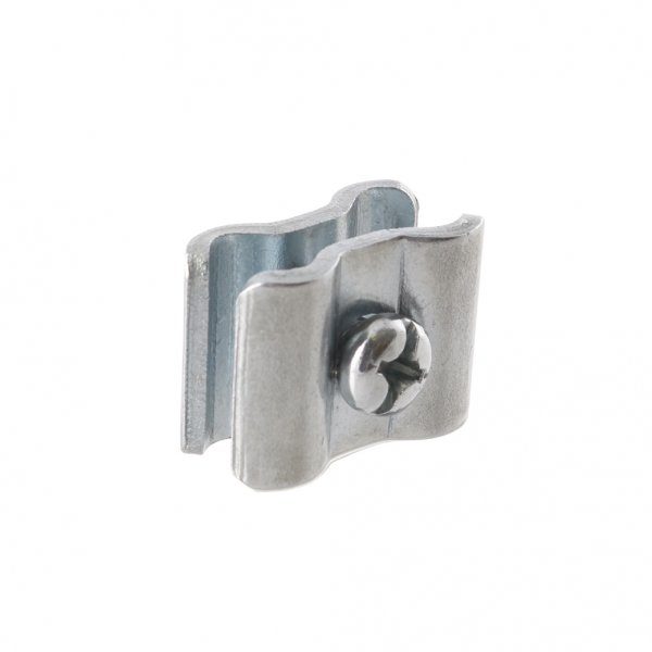 Zinc Plated Mesh Fixing Clip Mild Steel Included 1 X M5
