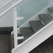 Handrail & Components | Weldable Glass Clamps