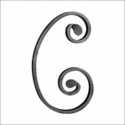 F H Brundle Clearance | Wrought Iron Scrolls