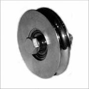 Gate Hardware | Round Grooved Wheels (600kg)