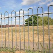 Bow Top Fencing | Galvanised Fencing Panels
