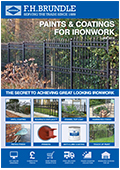 Paints and Coatings for Ironwork 2018
