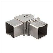 Handrail & Components | Square Fittings