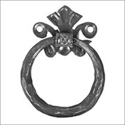 Wrought Iron Components | Decorative Wrought Iron Door Furniture