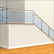 Weld-A-Rail |Glass Clamp Handrail System