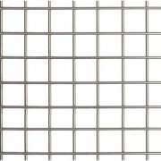 "Sq Ft 48"" Wide 8 x 8 x 1mm (3 Mesh 19g ) Stainless Welded Mesh Type 304"