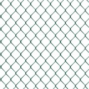 PVC Green C/L 2.75x50x3.15/2.24mm x12.5m Chain Link Galvanised Core
