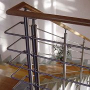 Wooden Handrail | Stainless With Wood (304)