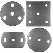 Wrought Iron Components | Fixing Plates