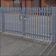 Fencing & Security | Palisade Fencing | Galvanised Gates