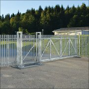 Galvanised Modular Cantilever Sliding Gate Kits